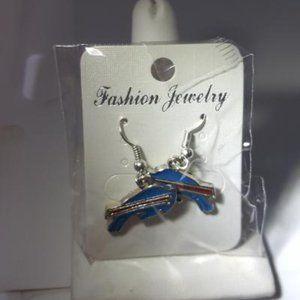 Buffalo Bills NFL Fashion Earrings NEW